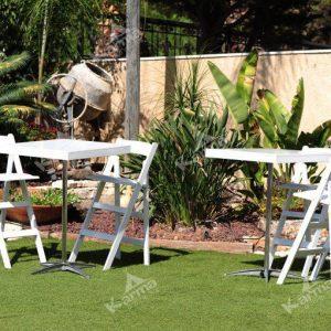 כיסא לבן 3 - ציוד לאירועים להשכרה