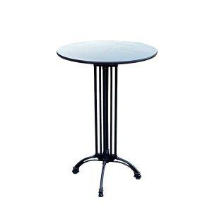 שולחן בר דגם בולוניה טופ שחור - השכרת ציוד לאירועים