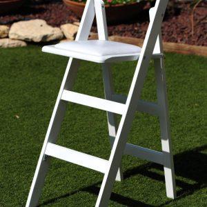 כיסא לבן 2 - ציוד לאירועים להשכרה
