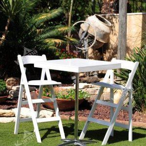 כיסא לבן 4 - ציוד לאירועים להשכרה