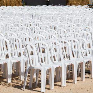כסא פלסטיק2 - ציוד לאירועים להשכרה