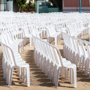 כסא פלסטיק3 - ציוד לאירועים להשכרה