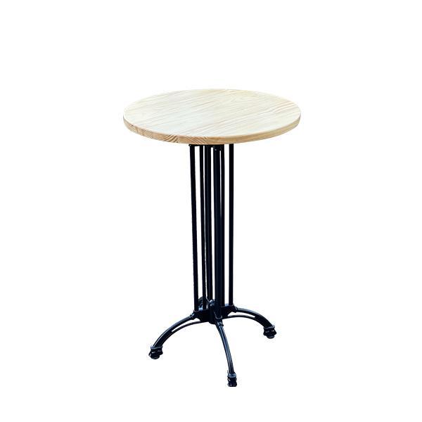 שולחן בר דגם בולוניה טופ טבעי - השכרת ציוד לאירועים