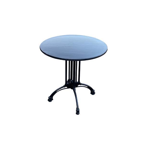 שולחן קפה דגם בולוניה טופ שחור - השכרת ציוד לאירועים